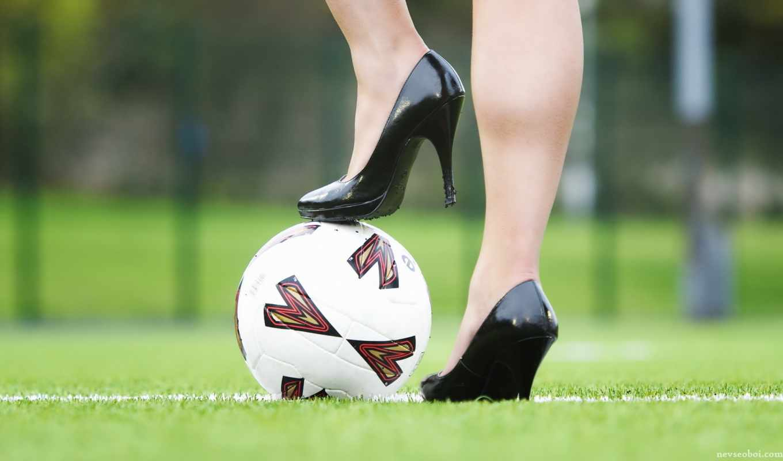 футбол, мяч, девушка, девушек, девушки,