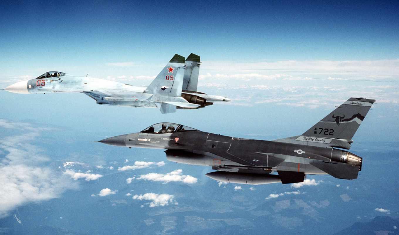 Су-33,Су-27, истребитель, небо, полет,