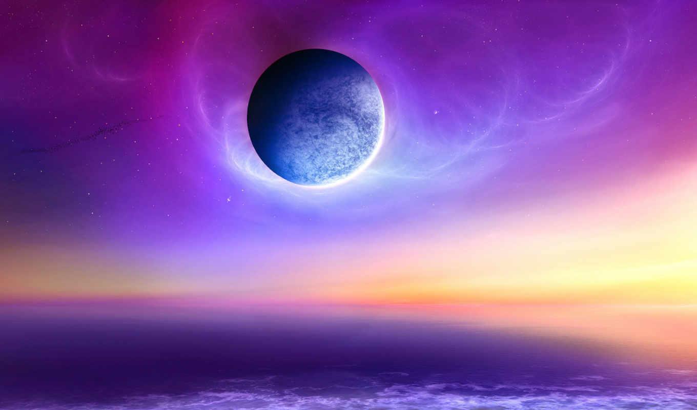 cosmos, море, тема, our, космоса,