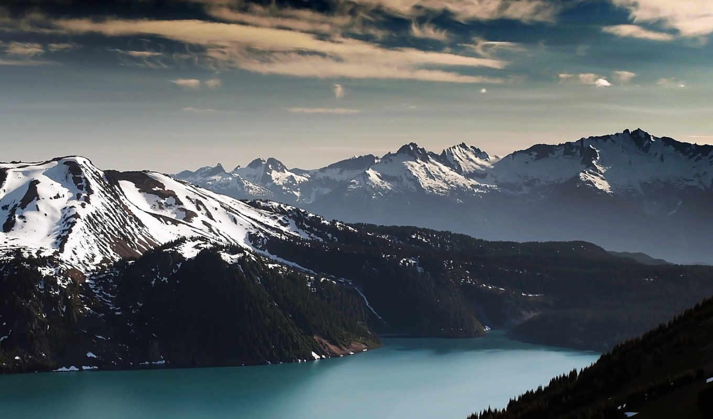winter, mountains, mountain, природа, desktop, юте,