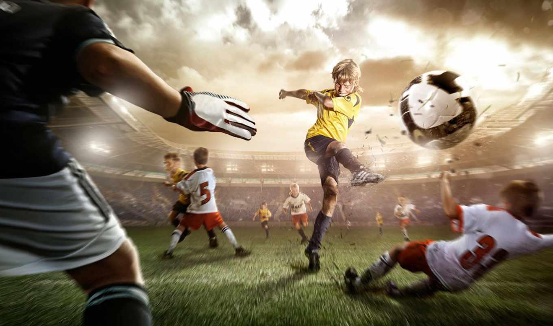 футбол, детский, ни, популяризировать,