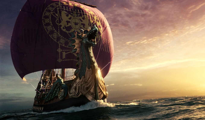 корабль, викингов, дракар, ghost,
