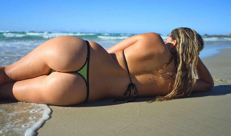 sexy, песок, попа, попка, берег, beach, girls, смотрите, desktop, girl, море,