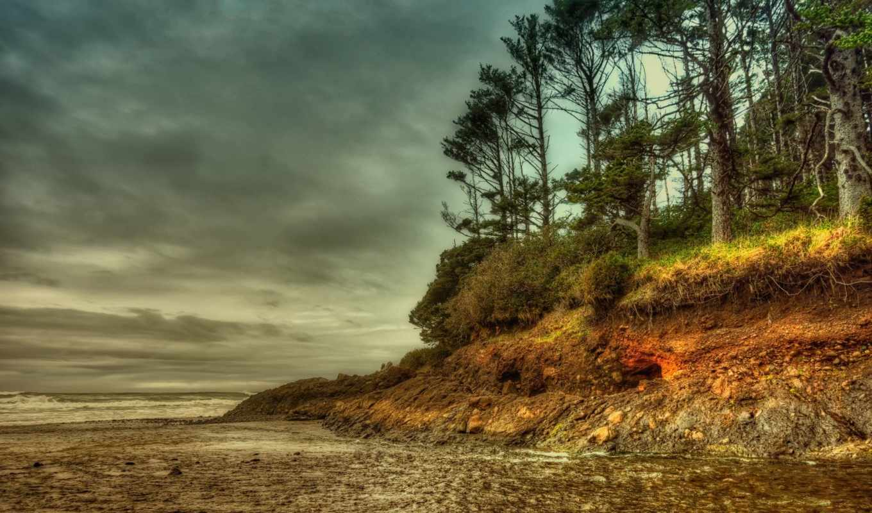 tapety, природа, pulpit, que, побережье, берег, тюлень, mais, rock, пляж,