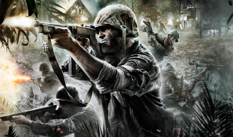 call, duty, war, world, cod, смерть, солдат, автомат, солдаты, games,