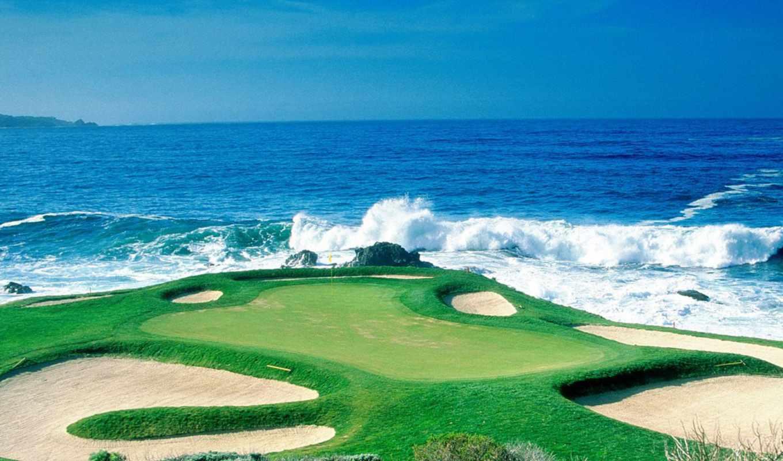 golf, курс, desktop,