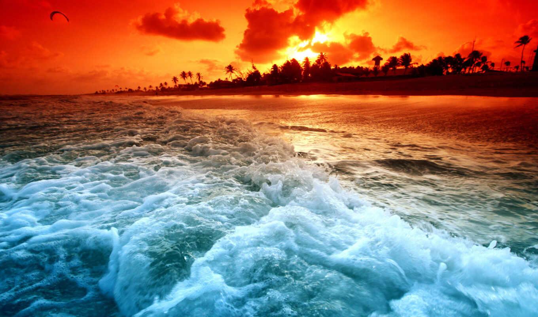 море, красивые, waves, моря, коллекция, пляж, египет, установить, нояб, природа,