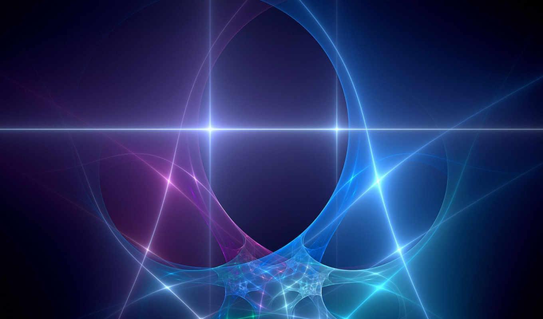 fractal, абстракция, свет, neon,