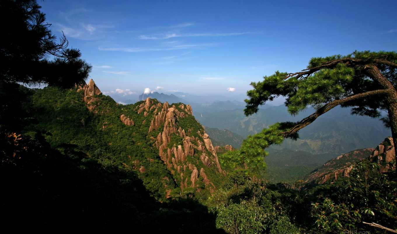 природа, горы, landscape, full, широкоформатные, красивые, красивая,