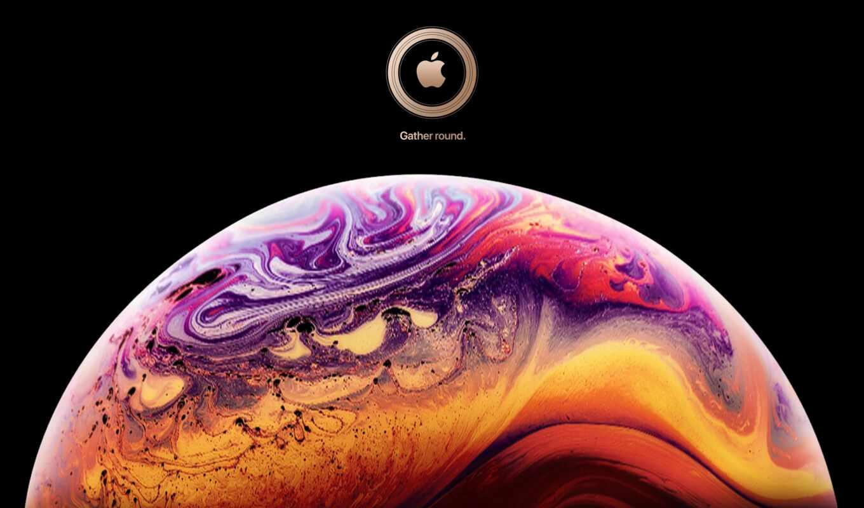 iphone, xs, max, apple, сентябрь