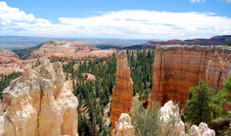 каньон, park, national, изображение, usa, utah, bryce, тематика, паркс, фото,