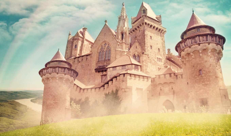 kreuzenstein, burg, castle, architecture, нота, medieval, pixer, samsing, mural, name, стена