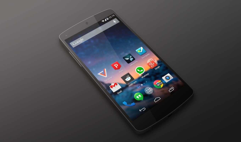 nexus, google, android, smartphone, kit, кат, black,