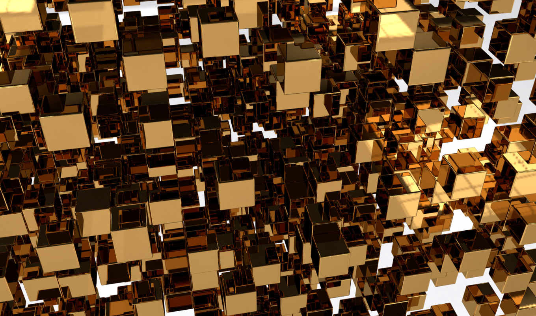 cubes, tall,