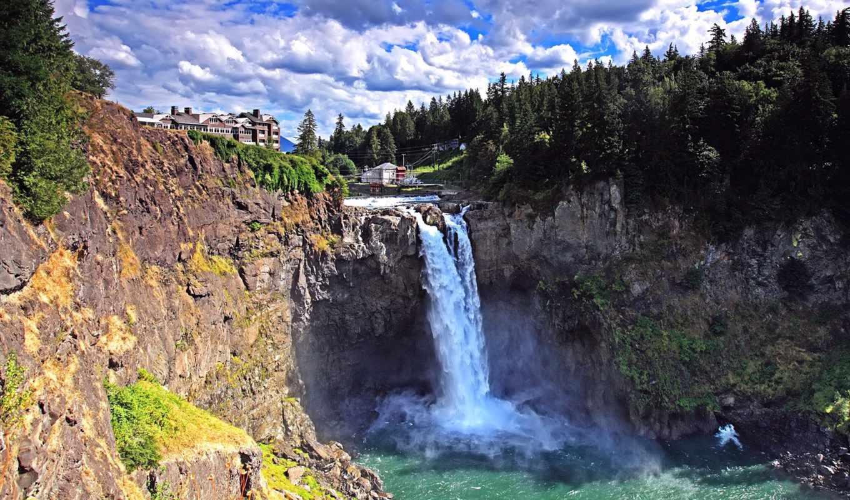 водопад, falls, панели, snoqualmie, сноквалми, образцы, природа, www, корабли, главная,