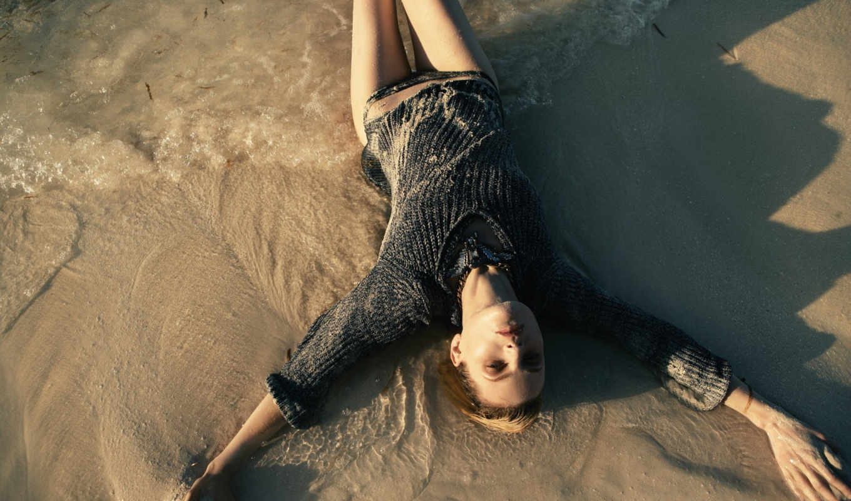 guinevere, van, seenus, vogue, germany, девушка, may, модель, вода, indlekofer, песок, claudia, knoepfel,