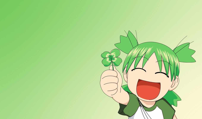 anim, девушка, зелёный, цветы, modal, verb, радость