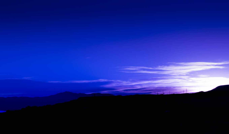 горизонт, американский, закат, небо, облако, гора, landscape, рассвет, природа, america, zero