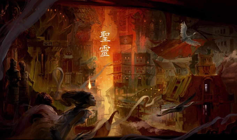 henryca, henryz, citra, fantasy, myth, сitra, art, oriental, чтобы, aka, иллюстрации, одной, евгений, photoshop, варшавский, women,