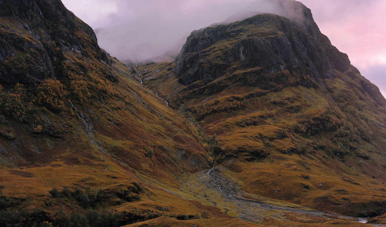 горы, priroda, камни, скалы, склон,