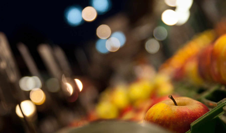 apple, еда, фото, плод, корзина,