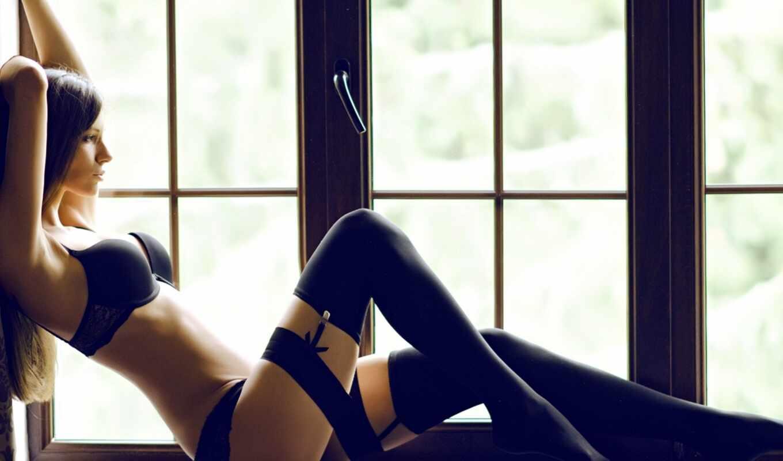 девушка, чулок, окно, белье, sit, правило, kilogramm, facebook, модель, google, slim