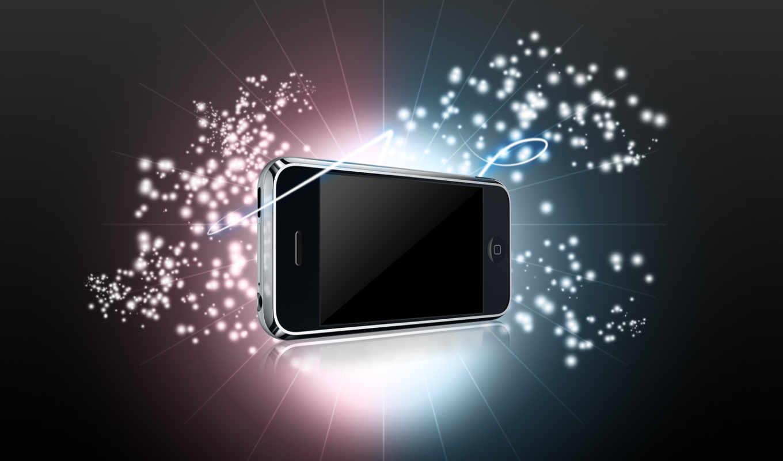 iphone, duvar, apple, kağıtları, widescreen, yıldız,