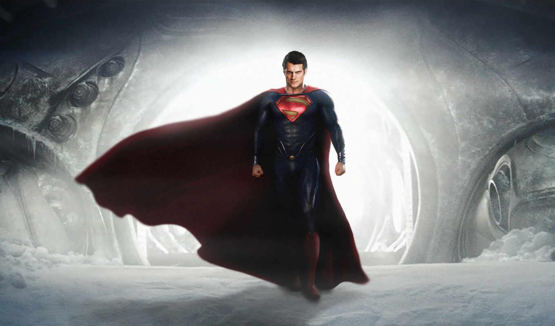 мужчина, стали, стальной, superman,