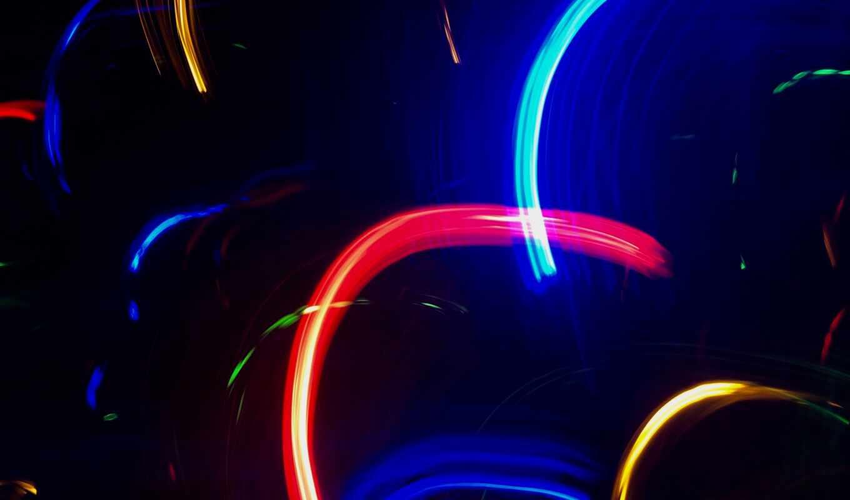 neon, свет, огни, line, устройство, color, black, сделать, mobile
