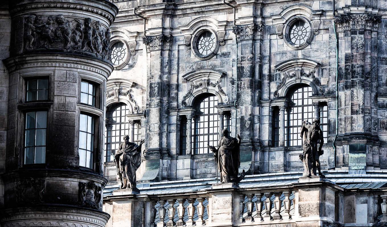 architecture, дрездена, совершенно, building, взгляд, категория,