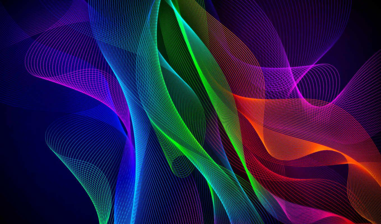 razer, телефон, abstract, colorful, фон