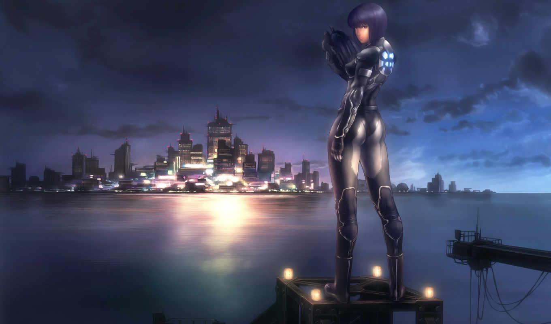 ghost, shell, game, anime, games, motoko, kusanagi, desktop, доспехах, complex, stand, alone,