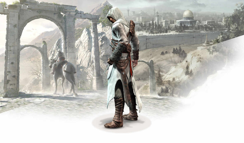 creed, assassins, изображение, assassin, gate,