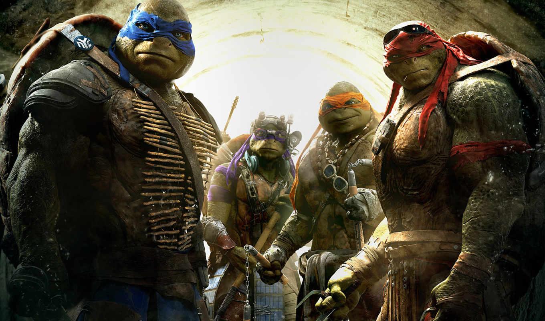 ninja, turtles, teenage, mutant, черепашки, tmnt, качестве,