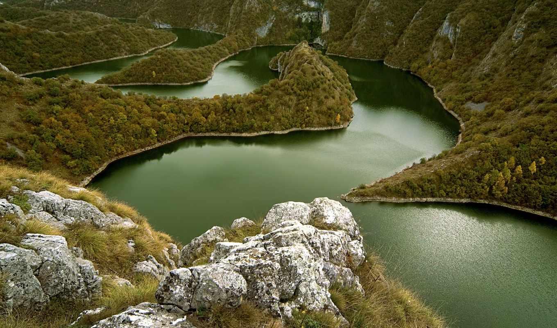 реки, увац, река, каньон, serbia, philippines, минданао, места, гинатуа,