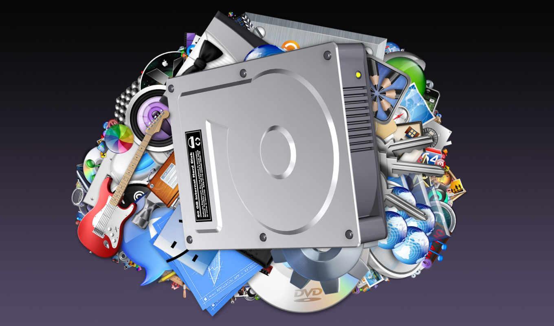 hard, apple, диск, внешний, windows, красивых,