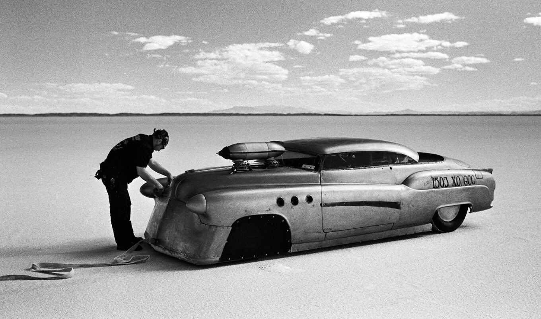 race, drag, car, озеро