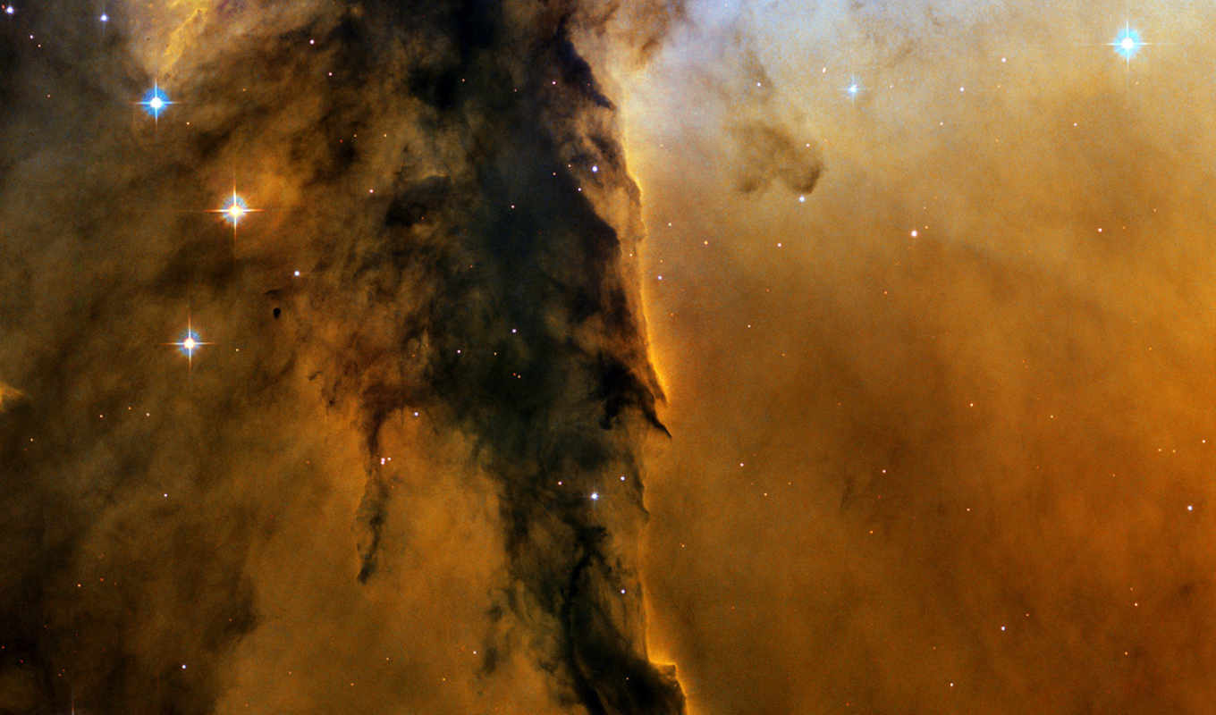 space, hubble, telescope, eagle, nebula, heic, nasa, part, tower,