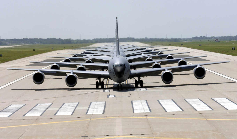 самолеты, авиация, военный, строй, картинка, американские, транспортные, картинку, аэропорт, полоса, взлетная, кликните, кнопкой, мыши,
