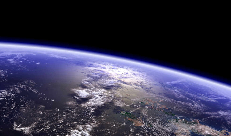 планета, земля, горизонт, tranquility, правой, картинку, space, кнопкой, картинка, мыши, planets, surface,