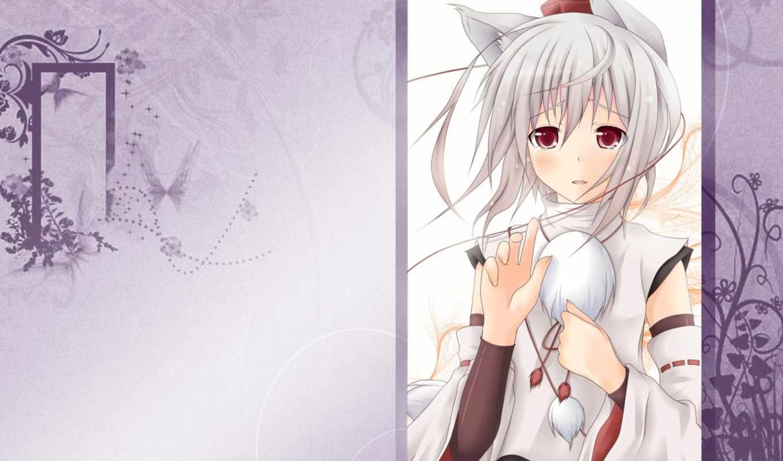 touhou, momiji, inubashiri, аниме, collection, animal, ears,