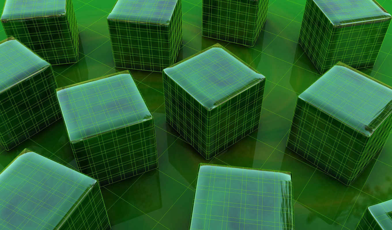 square, energy, графика, кристаллы, разрешений, кубик,