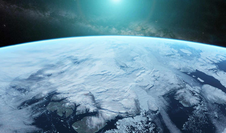 космос, атмосфера, арт, планета, scott, richard, звезды,