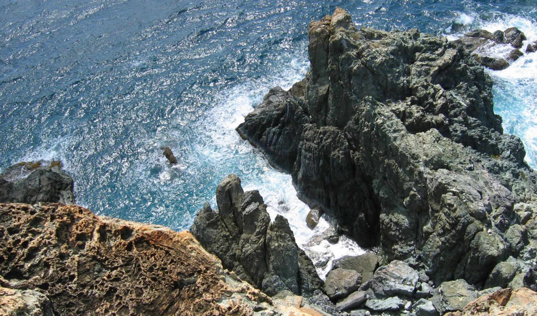 break, море, скалы, картинка,