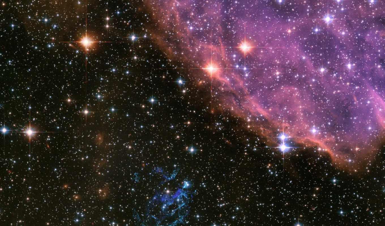 космос, звезды, туманность, картинка,