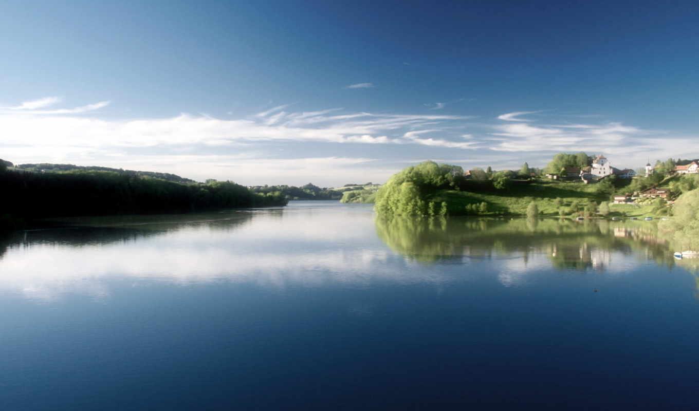 gruyere, открыть, lauterbrunnen, озеро,