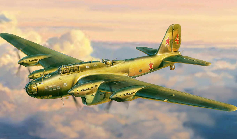 пе, бомбардировщик, soviet, far, самолёт, противника, модель, атаки, крыльев, initial, полет,