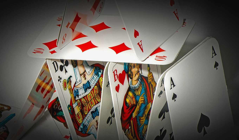 язык, покер