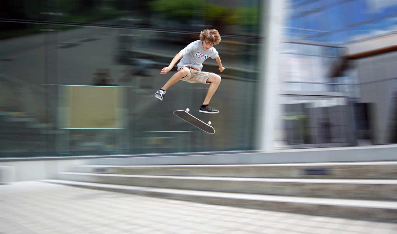 движение, доска, скейтбординг, desktop, games, street, image, download, sports, skater, high, skateboard,