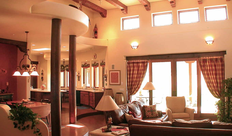 интерьер, дизайн, вилла, дом, стиль, пространство, жилое, экрана, номером,